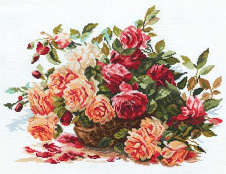 Розы. Розы. Набор для вышивания 0e23946d63136