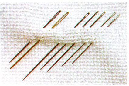 Иглы для вышивки фото