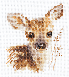 0-195 Portraits of animals. Fawn